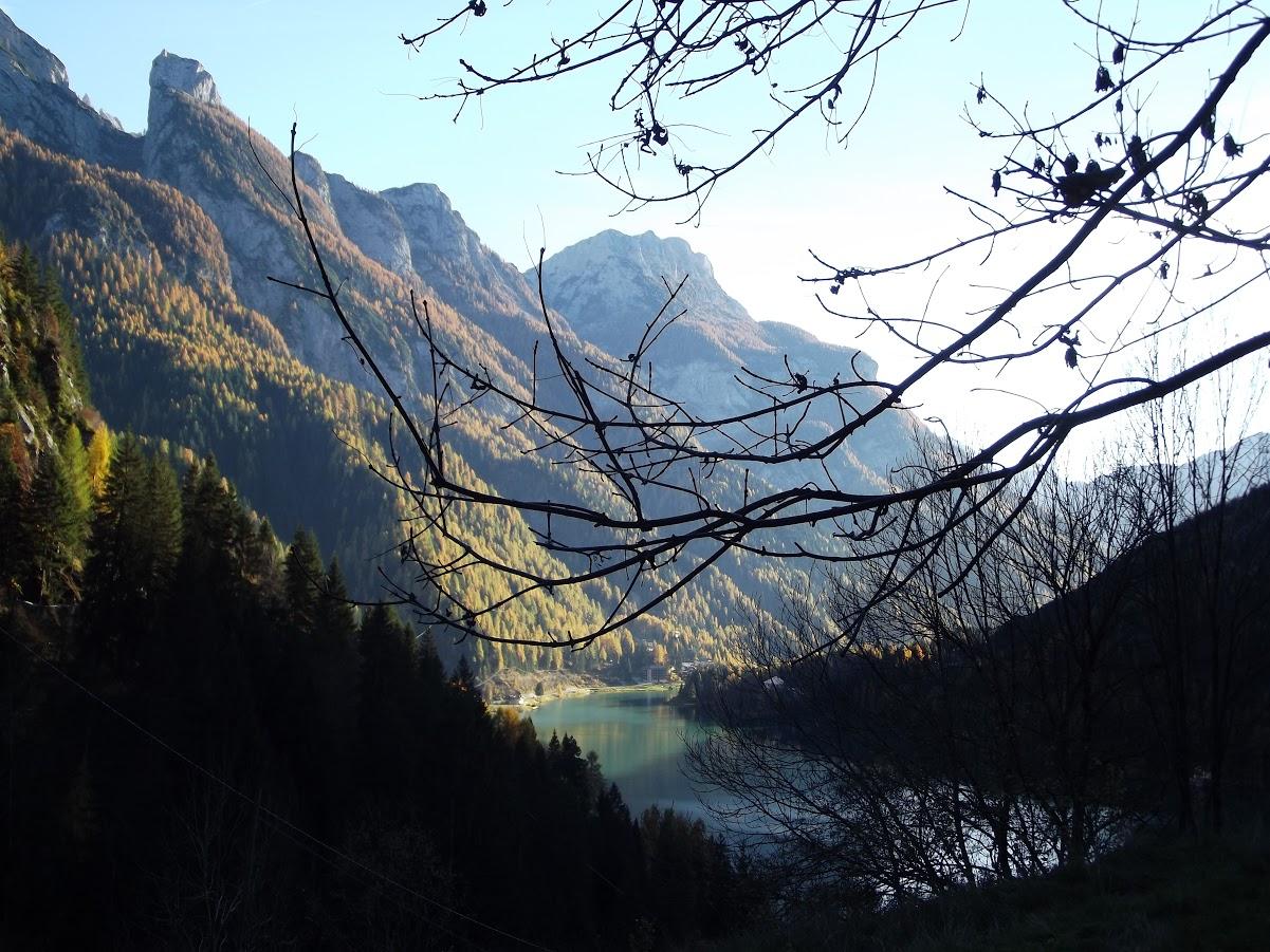Lago visto da Dorich