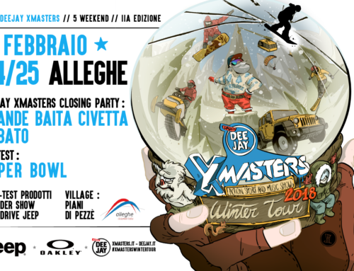 Il DEEJAY Xmasters Winter Tour arriva ad Alleghe !!