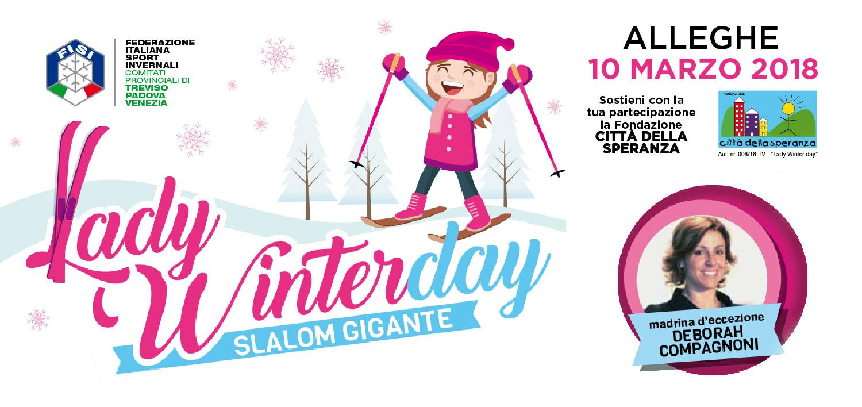 Alleghe-lady-Winter-Day