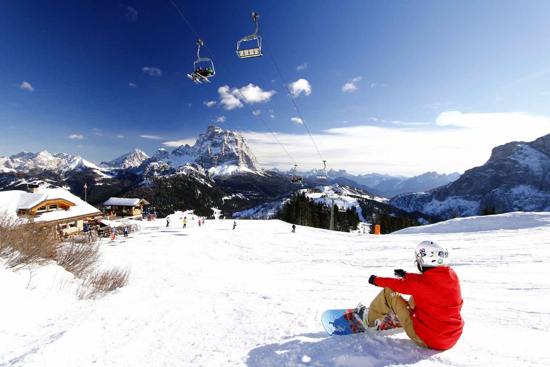Per andare a sciare è sempre il momento giusto!