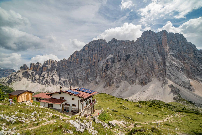 Trekking al Rifugio Tissi